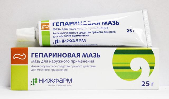 В состав мази входят анестезин, глицерин, стеарин, персиковое масло и другие компоненты