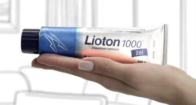Лиотон 1000 – гель для устранения симптомов варикоза