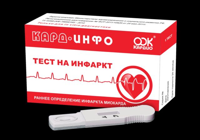 «КАРД-ИНФО» – метод экспресс диагностики