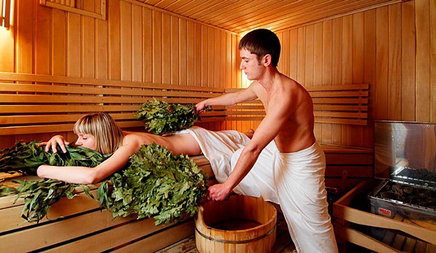 Посещение бани при ВСД