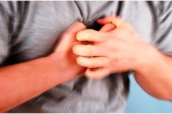 Боль в груди при ТЭЛА