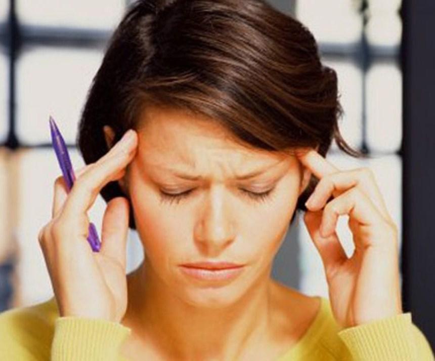 Приступ ВСД - головная боль