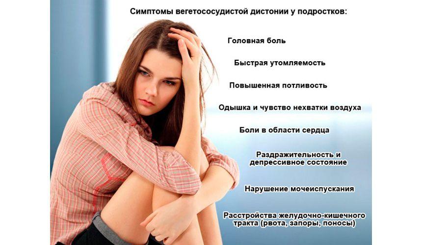 ВСД у подростка