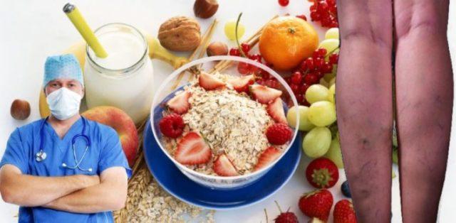 К ним относятся овощи и фрукты с большим содержанием клетчатки: белокочанная капуста, отруби, хлеб из муки грубого помола