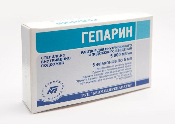 Применять Гепарин можно лишь в стационаре, во избегания различных осложнений, под строгим врачебным контролем